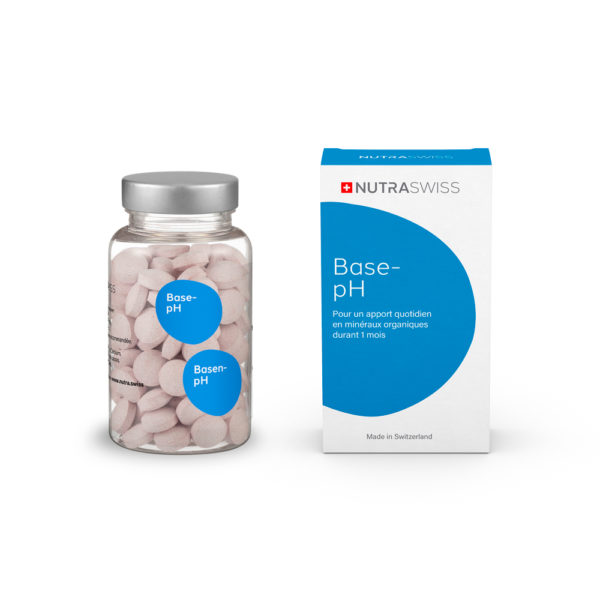 NUTRASWISS Base-PH Acidité Basifiant