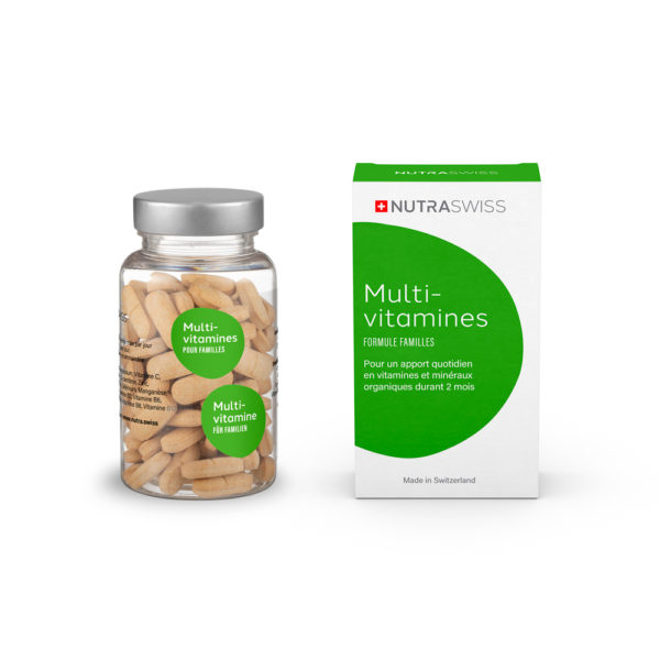 NUTRASWISS Multi-Vitamines Familles