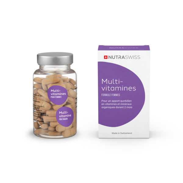 NUTRASWISS Multi-Vitamines Femmes