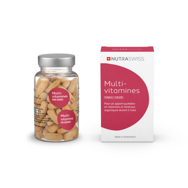 NUTRASWISS Multi-Vitamines Seniors