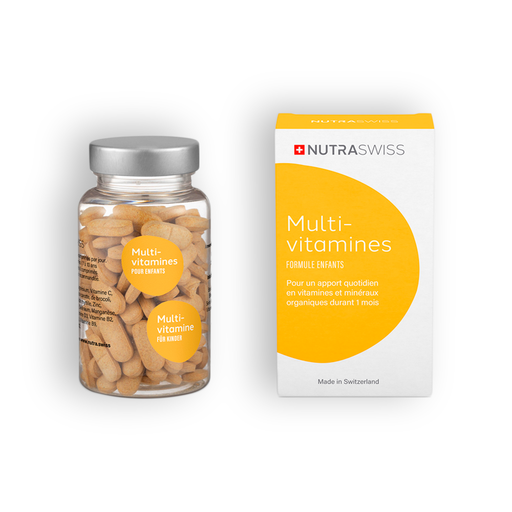 NUTRASWISS Multivitamines Enfants